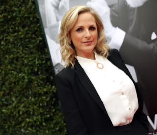Marlee Matlin in posa sul red carpet