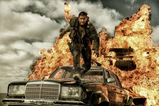 Una scena tratta da Mad Max: Fury Road
