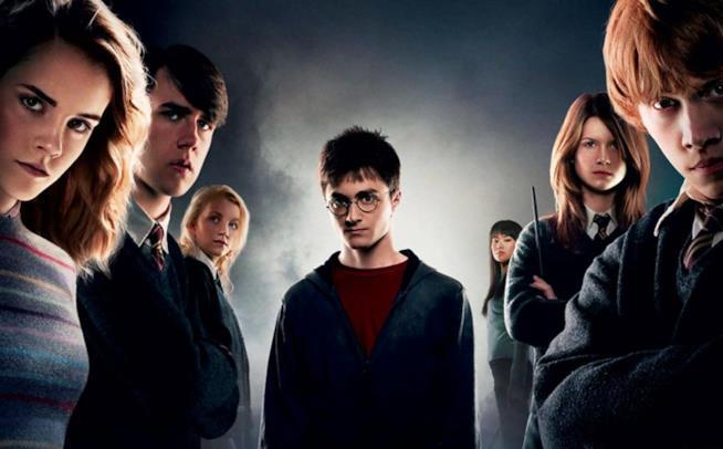 Il poster ufficiale di Harry Potter e l'Ordine della Fenice