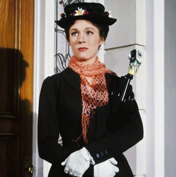 L'attrice premio Oscar Julie Andrews