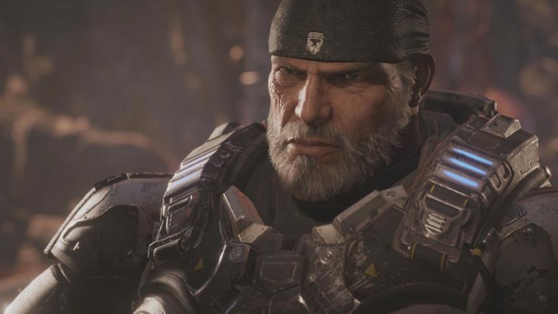Marcus Fenix in Gears of War 4