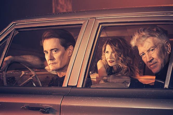 Le foto di Kyle MacLachlan, Laura Dern e David Lynch per Variety