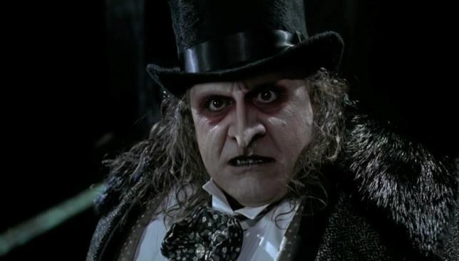 Danny DeVito nel ruolo del Pinguino