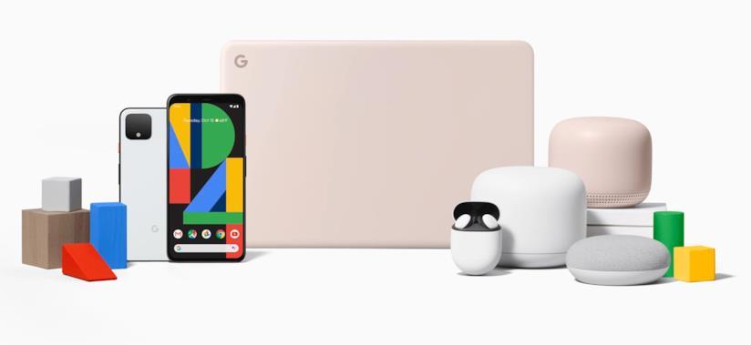 I dispositivi presentati da Google all'evento Made by Google di ottobre 2019