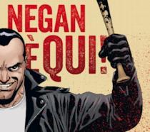 Cipertina del volume Negan è qui