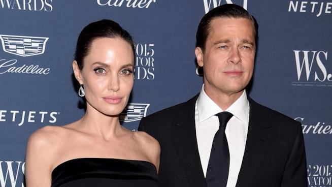 Brad Pitt e Angelina Joie sul red carpet quando erano sereni