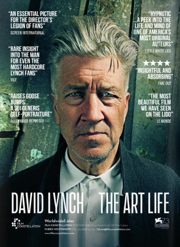David Lynch: The Art Life poster originale del biopic