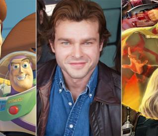 I protagonisti di Toy Story 4, Han Solo, Thor: Ragnarok