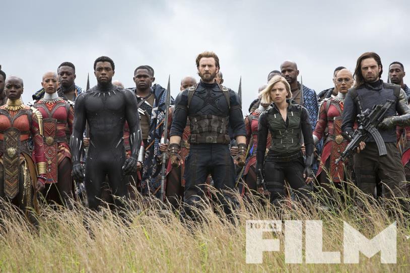 Team Cap in Wakanda pronto a fronteggiare Thanos