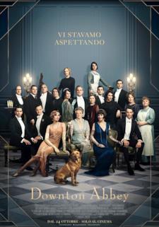 Il cast del film di Downton Abbey nel poster