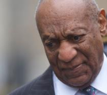 Bill Cosby all'ingresso in tribunale