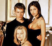 I tre protagonisti del film Cruel Intentions