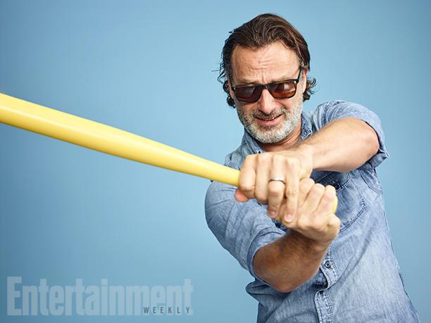 Andrew Lincoln - Rick Grimes imita Negan