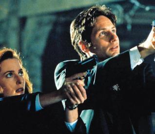 Mulder e Scully nelle prime stagioni di X-Files