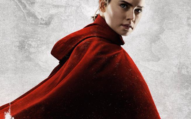 Rey con una misteriosa tunica rossa