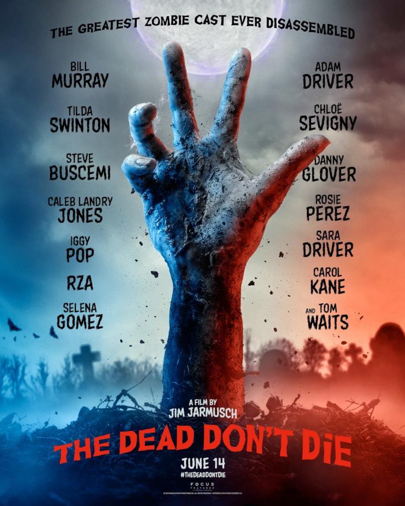 Il poster ufficiale di The Dead Don't Die