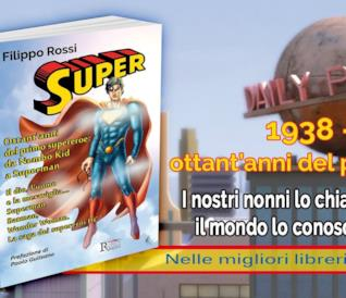 Manifesto pubblicitario di Super, il saggio di Filippo Rossi pubblicato da Runa Editrice