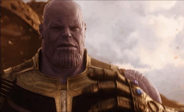 Thanos vuole completare il Guanto dell'Infinito