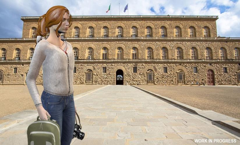 Omicidio a Palazzo Pitti videogioco