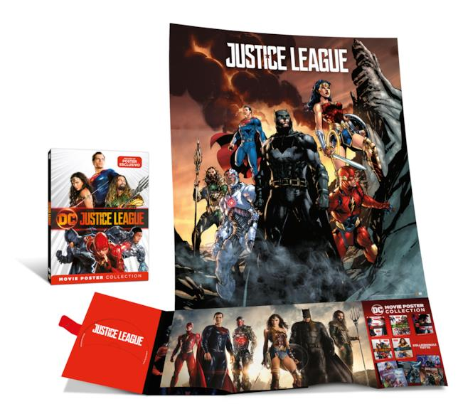 Justice League in versione DC Movie poster collection