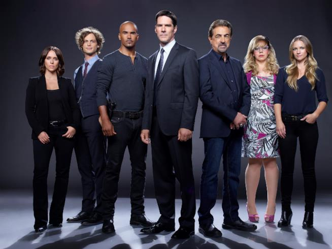Il cast di Criminal Minds al completo