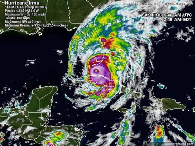 L'uragano Irma