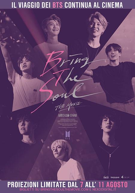 I BTS sulla locandina di Bring the Soul: The Movie