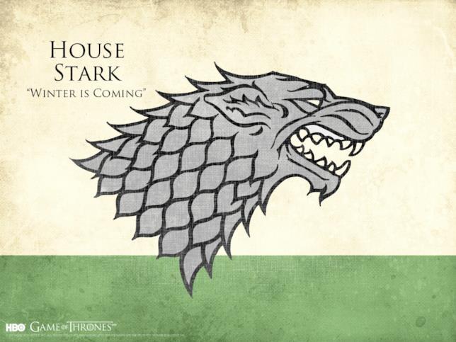 Il motto e lo stemma di Casa Stark