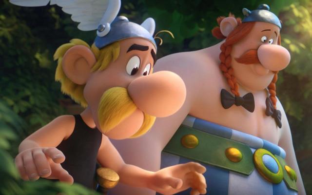scena Asterix e la pozione magica