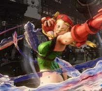 Cammy in un combattimento di Street Fighter V