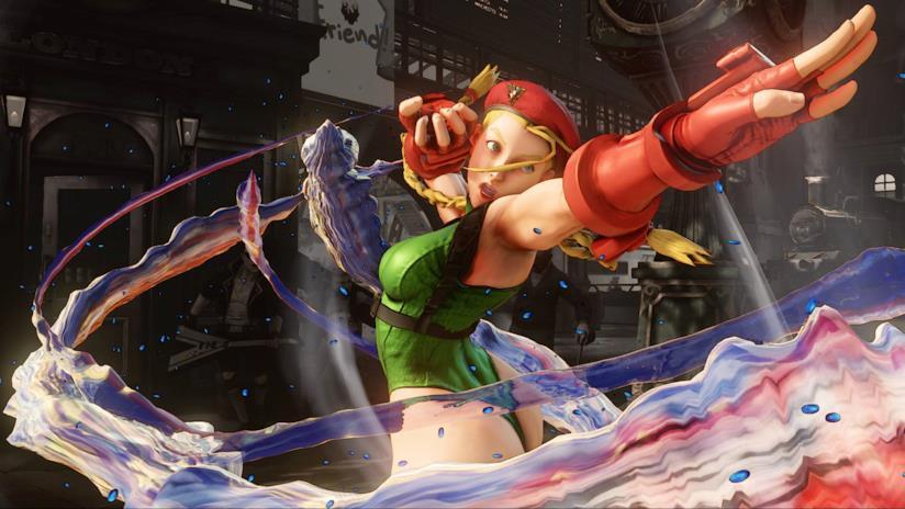 Cammy in un combattimento di Street Fighter V