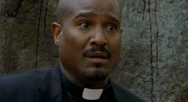 Padre Gabriel in The Walking Dead