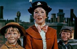 GIF dal film originale di Mary Poppins