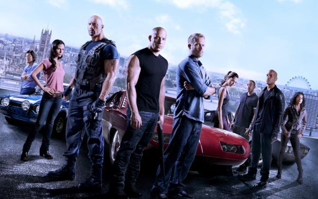 Il cast di Fast & Furious 7