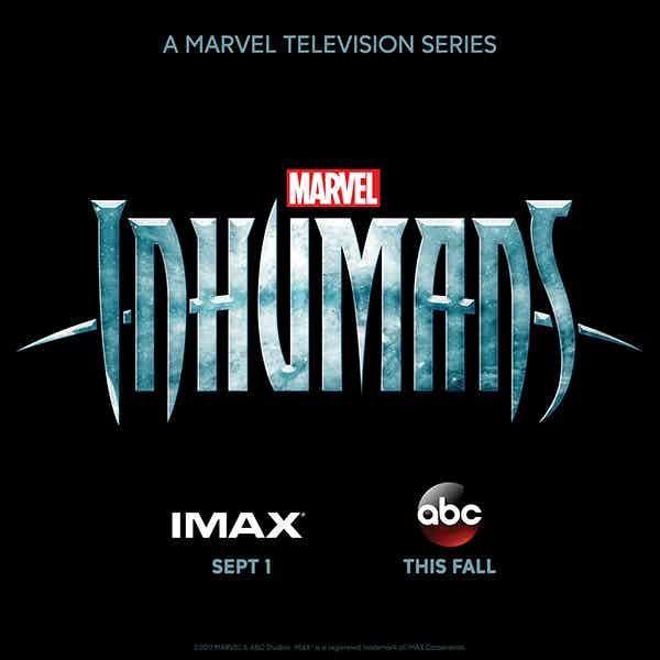 Il logo della serie TV Inhumans