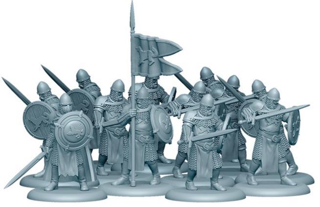 Le miniature della fazione Stark