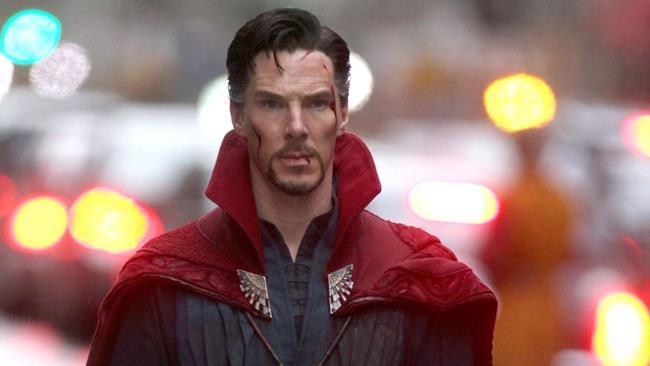 Benedict Cumberbatch alias Marvel Doctor Strange