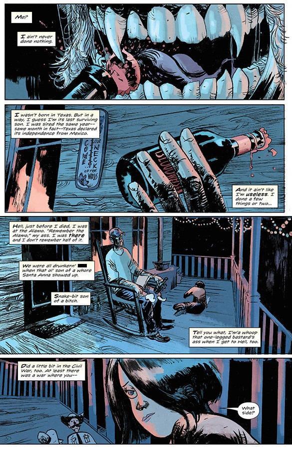 Redneck - La prima pagina del primo numero della serie di Donny Cates