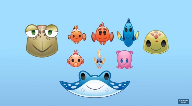 Final Finding Nemo emojii Disney