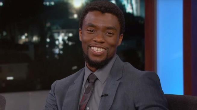 Chadwick Boseman sfinito dopo l'intervista di Jimmy Kimmel