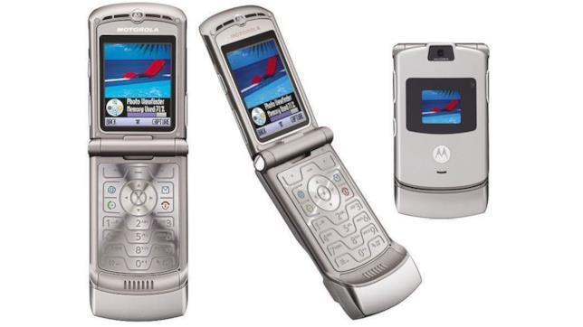 Immagine stampa del Motorola RAZR