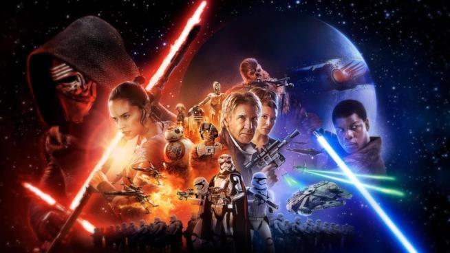 I protagonisti di Star Wars