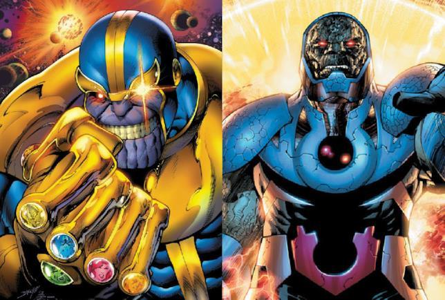 Thanos e Darkseid a confronto