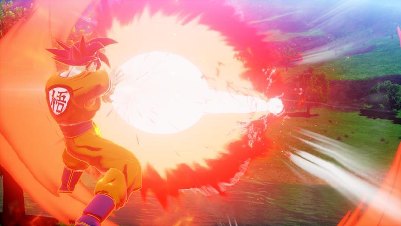 Goku SS God Kakarot