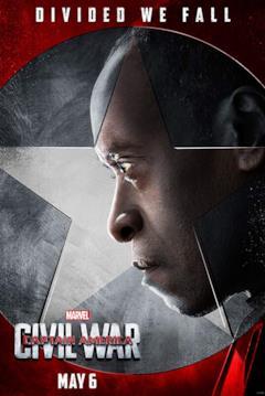 War Machine in un poster a lui dedicato