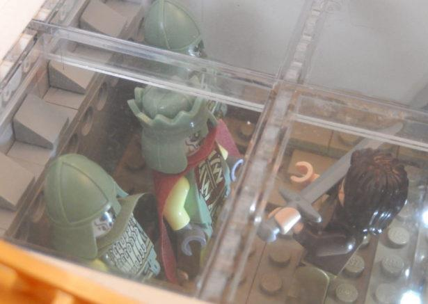 Aragon e l'esercito dei morti in formato omini Lego