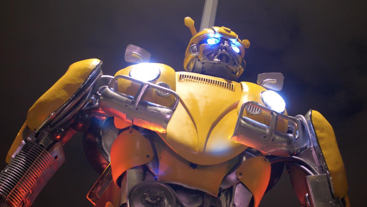Il leggendario Trasformers Bumblebee