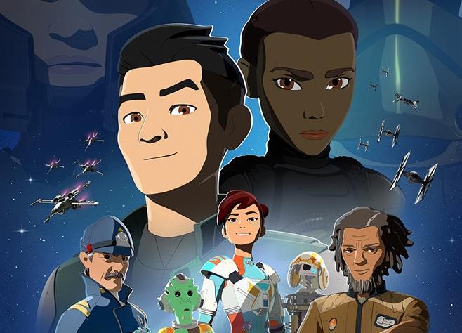 Poster della seconda stagione di Star Wars Resistance