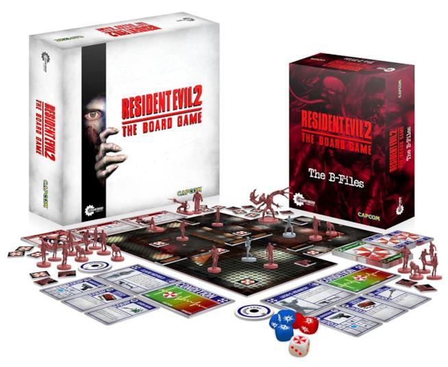 Resident Evil 2 diventa un gioco da tavolo