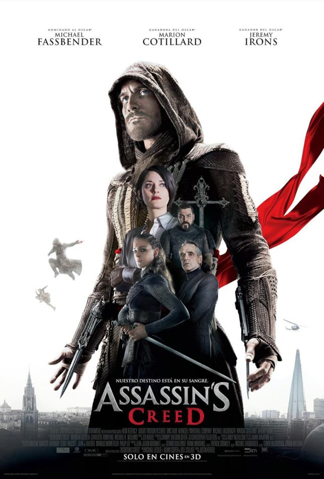 I protagonisti del live-action di Assassin's Creed